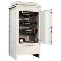 Stainless steel-housed resistor / floor-standing / grounding / neutral