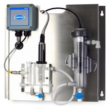 Chlorine analyzer / pH / for integration / in-line