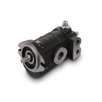 Gear hydraulic motor / variable-displacement / compact / cast iron