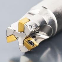 Insert milling cutter / shoulder / small-diameter
