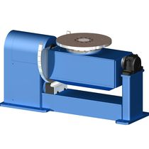Motorized positioner / rotary / vertical / 2-axis