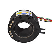 Through-hole slip ring / compact