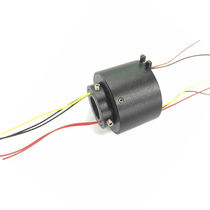 Through-bore slip ring / high-speed