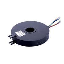 Through-hole slip ring / flat / in plastic / PCB