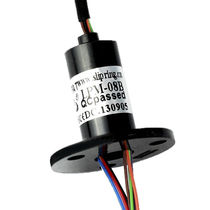Electric slip ring / for UAVs / compact / noise immunity
