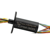 Capsule slip ring / for CCTV applications / gold / miniature