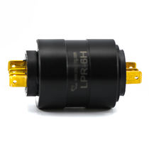 Electric slip ring / for wrapping machines