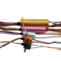 Capsule slip ring / electric / Ethernet / HD-SDI