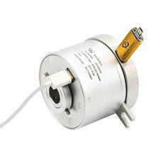 USB slip ring / through-bore / anodized aluminum