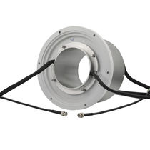 Through-hole slip ring / aluminum / with gold contacts