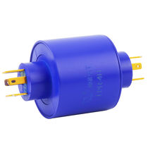 Electric slip ring / for packaging / compact / custom