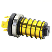 Serial slip ring / electric / solid-shaft / column type