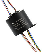 Hollow-shaft slip ring / compact
