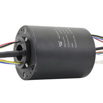Electric slip ring / Ethernet / PROFIBUS / hollow-shaft