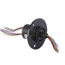 Capsule slip ring / medical / with gold contacts / standard