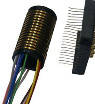Hollow-shaft slip ring / for cameras / for measurement instruments / for UAVs