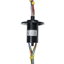 Electric slip ring / for infrared cameras / for CCTV applications / noise immunity