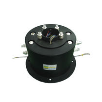 Through-bore slip ring / custom / for oil industry applications / for offshore oil rigs
