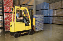 Electric forklift / ride-on / outdoor / counterbalanced