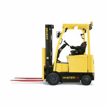 Electric forklift / outdoor / ride-on / counterbalanced