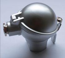 Thermocouple connection head / aluminum / for temperature sensors