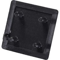 Square end cap / plastic