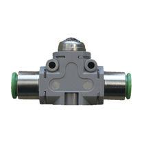 Piston valve / in-line / quick-release exhaust