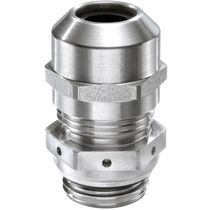 Stainless steel cable gland / IP68 / IP69 / EMC-shielded