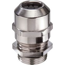 Cable gland for railway applications / nickel-plated brass / IP68 / IP69