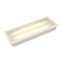 Ceiling-mounted lighting / LED / fluorescent tube / for storage hall