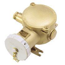 CEE electrical socket / fixed / waterproof