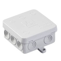 Wall-mounted junction box / IP54 / polypropylene / PE