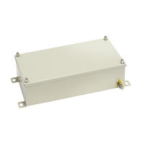 Wall-mounted junction box / IP66 / IP67 / stainless steel
