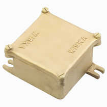 Surface mounted junction box / IP56 / brass