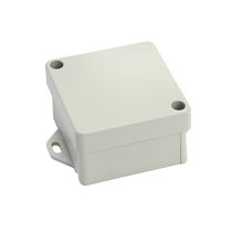 Small-size enclosure / rectangular / cast aluminum / empty