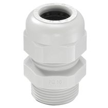Polyamide cable gland / IP68 / halogen-free / threaded