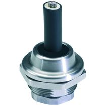 Stainless steel cable gland / IP68 / IP69K / threaded