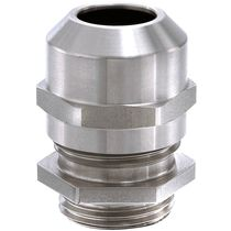 Stainless steel cable gland / IP68 / IP69 / halogen-free