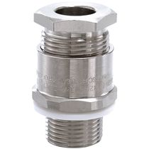 Non-armored cable cable gland / nickel-plated brass / IP67 / explosion-proof