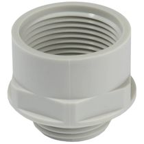 Electric adapter / for cables / threaded / polyamide