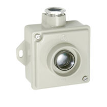 Single-pole push-button switch / illuminated / momentary / IP67