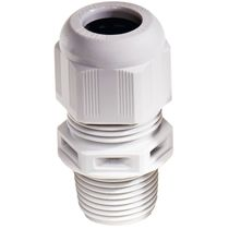 Polyamide cable gland / IP68 / IP69 / straight