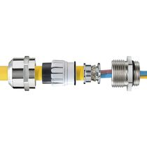 Stainless steel cable gland / explosion-proof / IP68 / IP66