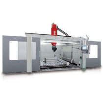 CNC machining center / 5-axis / vertical / for composites