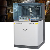 X-ray spectrometer / X-ray fluorescence / pre-calibrated / for metal analysis