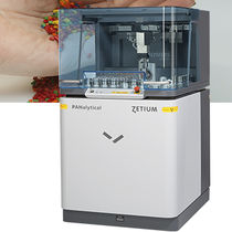 X-ray spectrometer / X-ray fluorescence / for polymer analysis