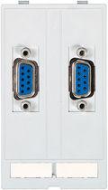 Audio/video connector / D-sub / VGA / rectangular