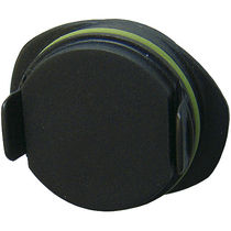 Oval plug / male / plastic / for cable entry