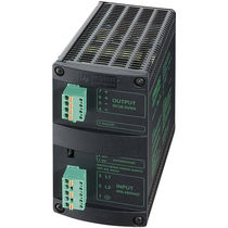 AC/DC power supply / DIN rail / two-phase / single-phase