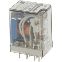 220 Vac electromechanical relay / plug-in / power
